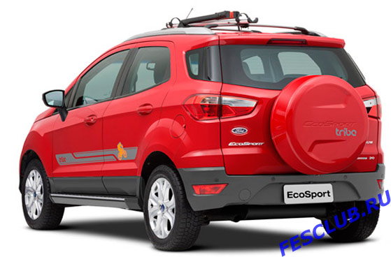 Ford Ecosport Tribe